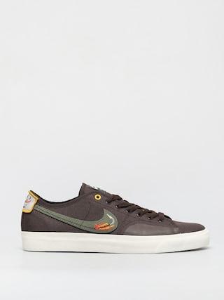 Nike SB X Daan Van Der Linden Blazer Court Cipu0151k (baroque brown/medium olive light bone)