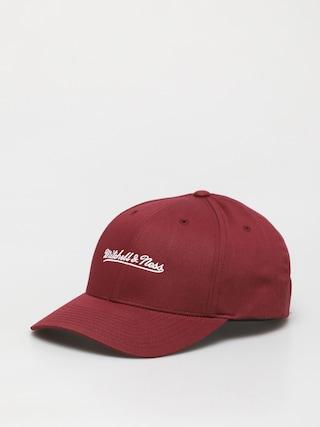 Mitchell & Ness Script Low Pro ZD Baseball sapka (branded/burgundy)