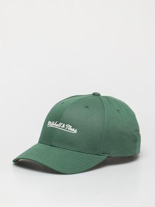 Mitchell & Ness Script Low Pro ZD Baseball sapka (branded/dark green)