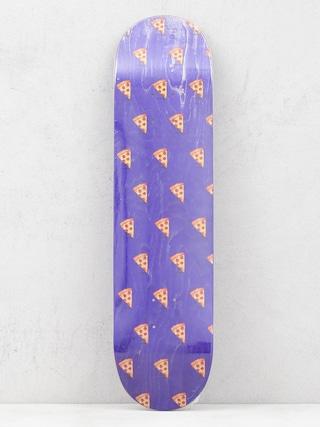 Pizza Skateboards Emoji Pattern Gu00f6rdeszka lap (navy)