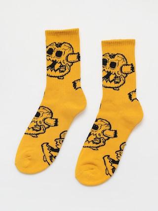 Toy Machine Monster Skull Zokni (mustard)