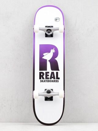 Real Be Free Komplett gu00f6rdeszka (white)