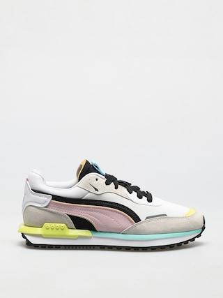 Puma City Rider Cipők (gray/pink)
