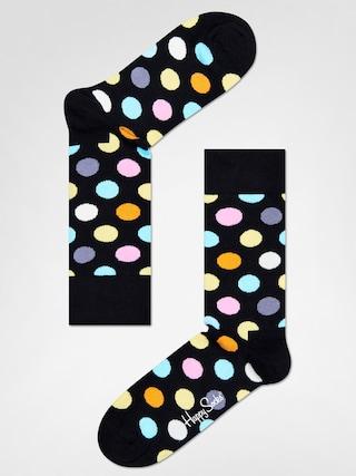 Happy Socks Big Dot Zokni (black/multi)