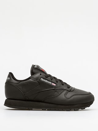Reebok Classic Leather Wmn Cipők (black)