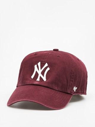 47 Brand New York Yankees ZD Baseball sapka (washed maroon)