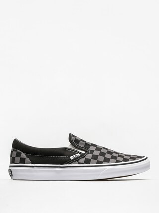 Vans Classic Slip On Cipu0151k (black/pewter checkerboard)