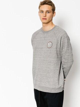 Brixton Wheeler Pulu00f3ver (heather grey/brick)