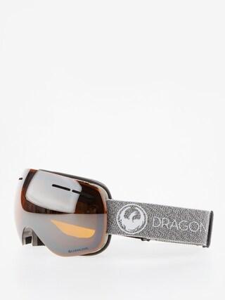 Dragon X1s Snowboard szemu00fcveg (mill/lumalens silver ion/dark smoke)