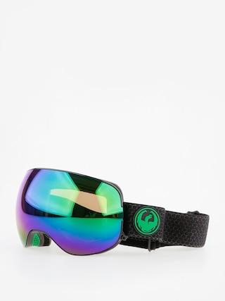 Dragon X2 Snowboard szemu00fcveg (split/lumalens green ion/lumalens amber)