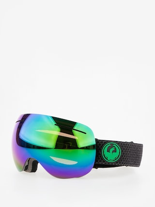 Dragon X1 Snowboard szemu00fcveg (split/lumalens green ion/lumalens amber)
