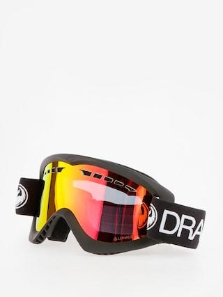 Dragon DX Snowboard szemu00fcveg (black/lumalens red ion)