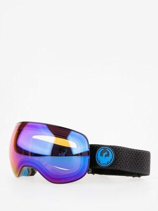 Dragon X2 Snowboard szemu00fcveg (split/lumalens blue ion/lumalens amber)