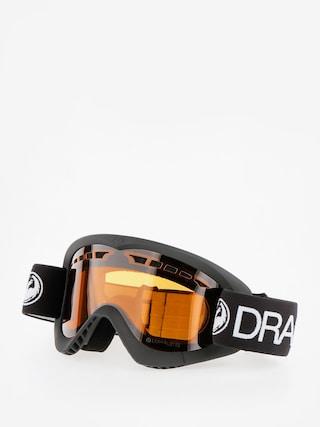 Dragon DXS Snowboard szemu00fcveg (black/lumalens amber)