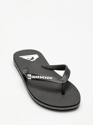 Quiksilver Molokai Flip-flop papucsok (black/black/white)