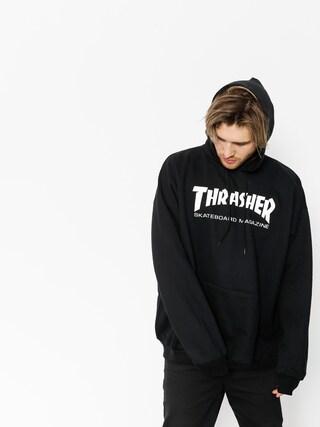 Thrasher Skate Mag HD Kapucnis pulu00f3ver (black)