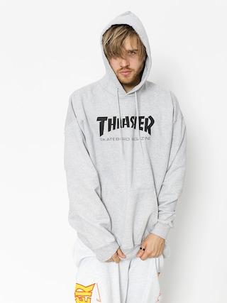 Thrasher Skate Mag HD Kapucnis pulu00f3ver (grey)