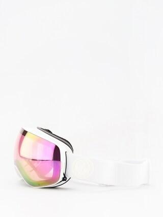 Dragon X2s Snowboard szemu00fcveg (whiteout/lumalens pink ion/lumalens dark smoke)